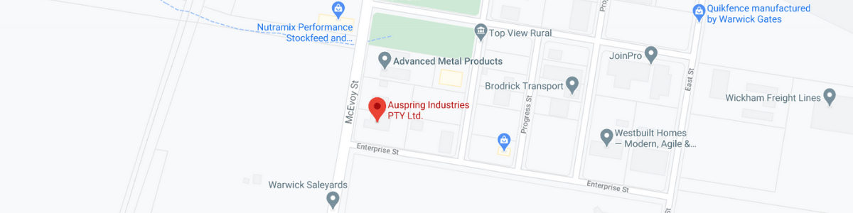Auspring Industries Pty Ltd Map