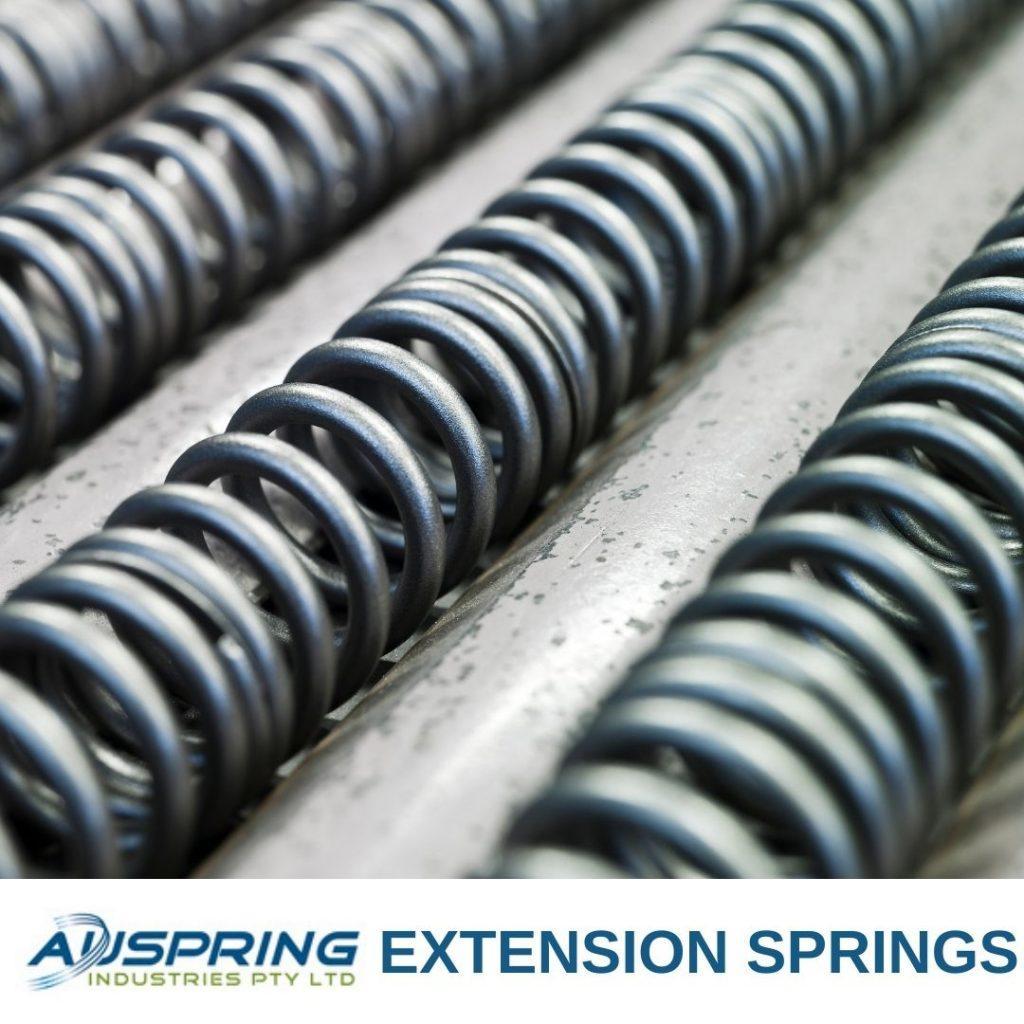 Extension Springs  - Auspring Industries