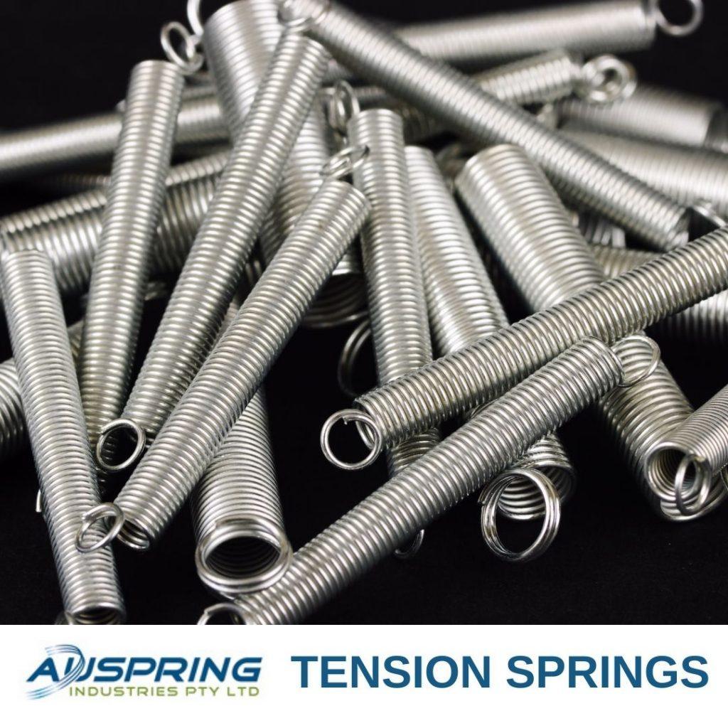 Tension Springs - Auspring Industries